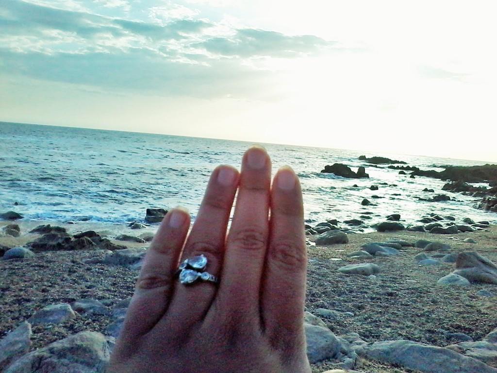 Meu anel de noivado *.*
