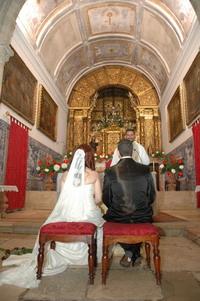 a igreja de Alcochete