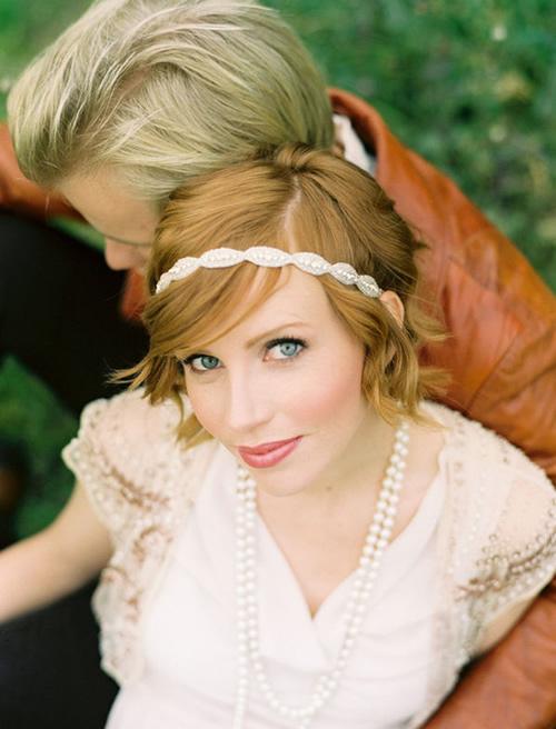 penteado de noiva moderno