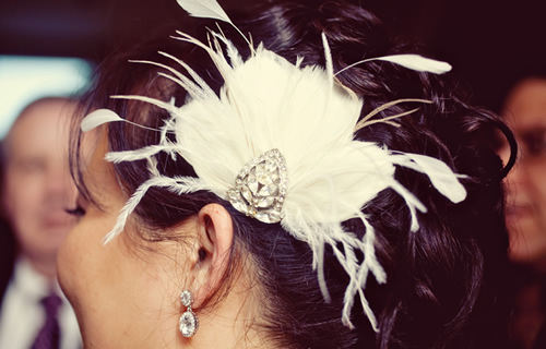 acessórios para penteados com glamour