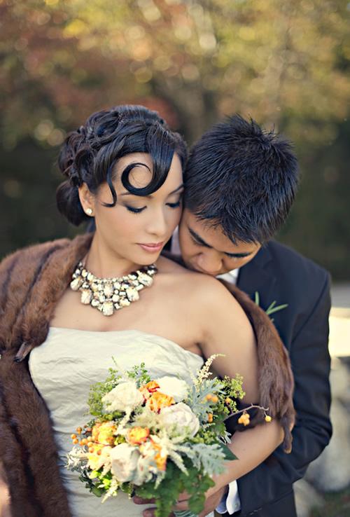 Casamento com estilo luxuoso