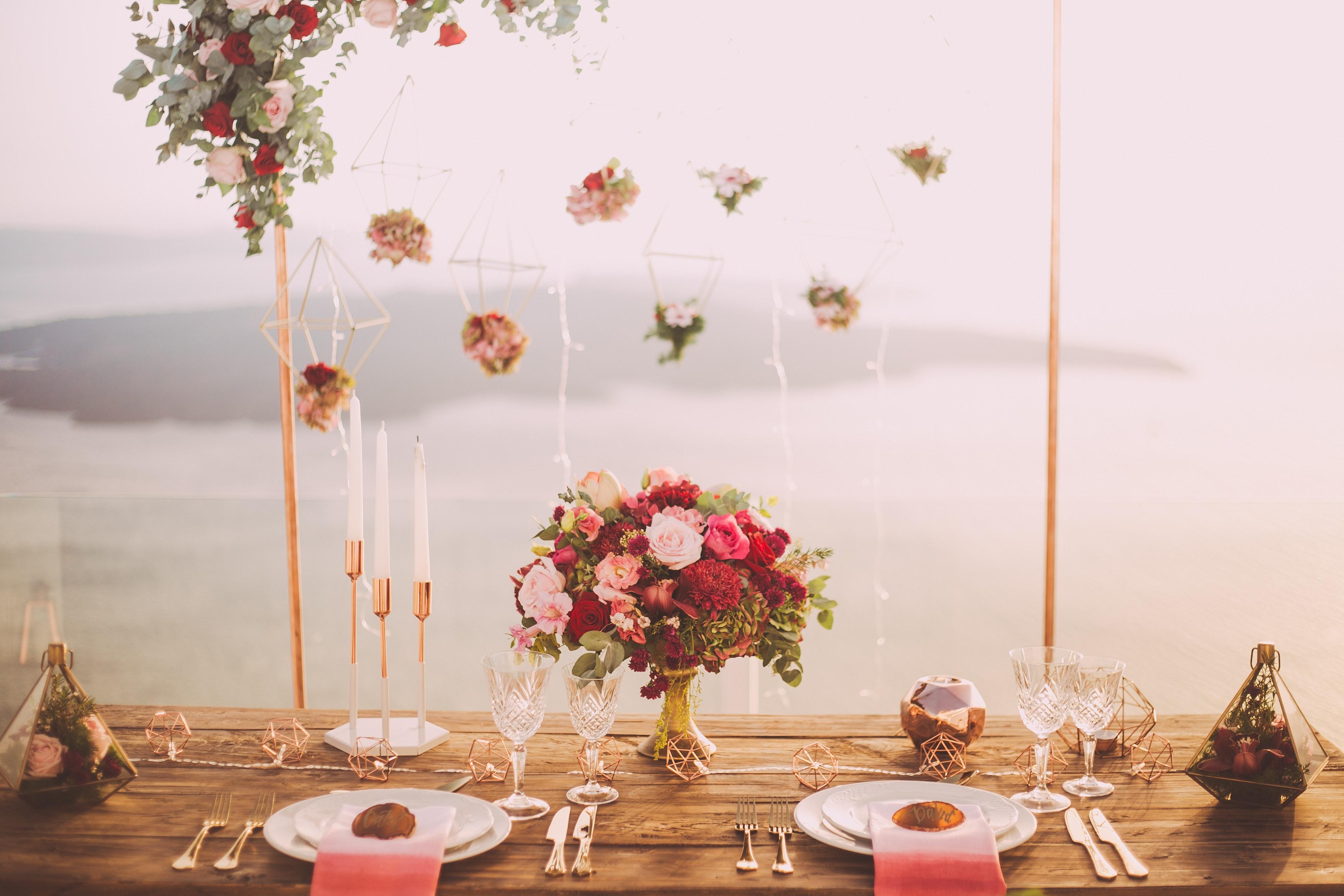 Mesa de decoração