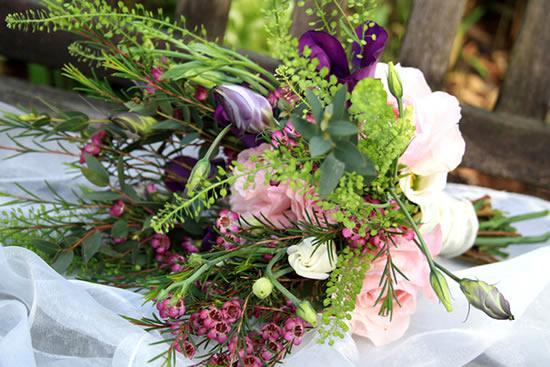 Flores para o casamento