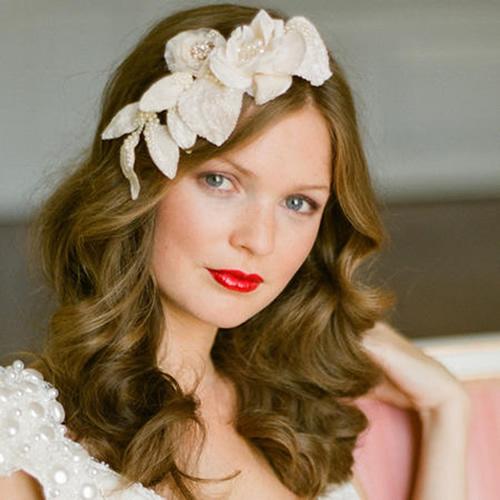 Flowers In Hair For Wedding Guest : Ideias de acess?rios noiva para o cabelo nosso