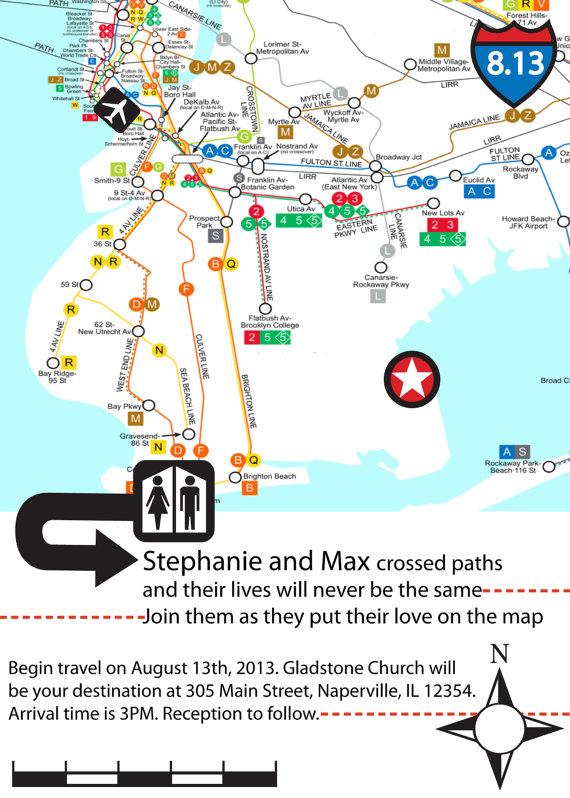 simples mapa do destino do casamento