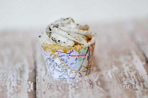 Base de um cupcake