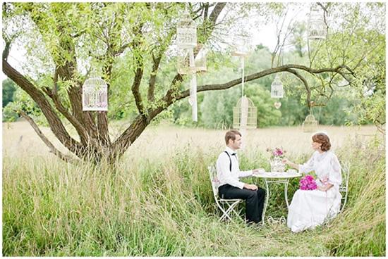 Ideias para um casamento romântico  O Nosso Casamento