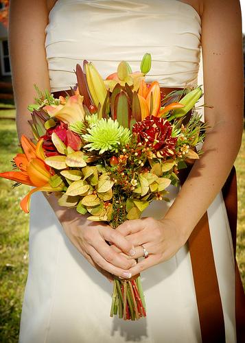 bouquet de noiva rústico