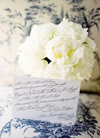 Bouquet e convites