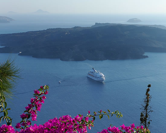 Uma lua-de-mel na Grécia em cruzeiro