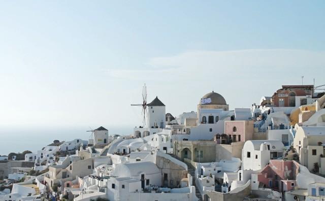 Lua-de-mel na Grécia
