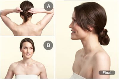 Alisar cabelo da noiva
