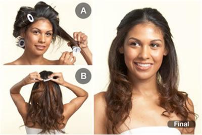Alisar cabelo
