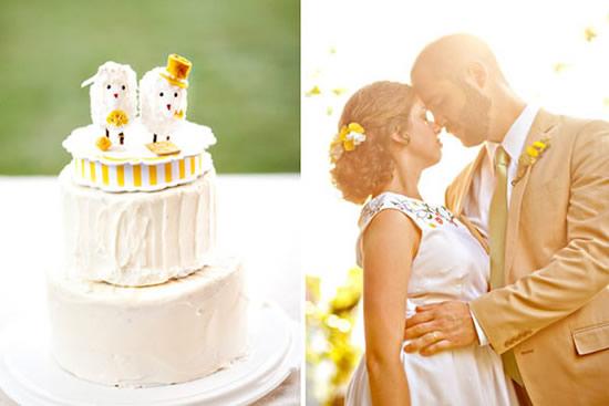 Bolos de casamento rústicos