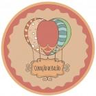 Retrato de Coração de Balão