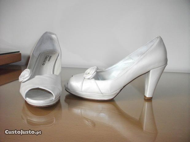 Vendo sapatos de noiva usados   O Nosso Casamento