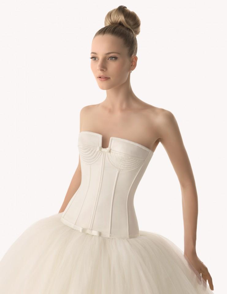 Vestido de noiva Rosa Clará Princesa