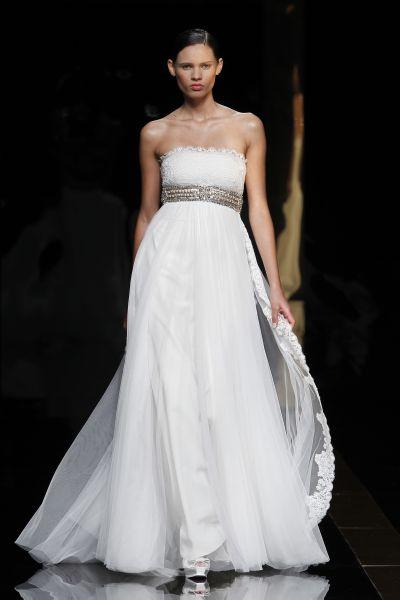 vestido de noiva rosa clará 2012