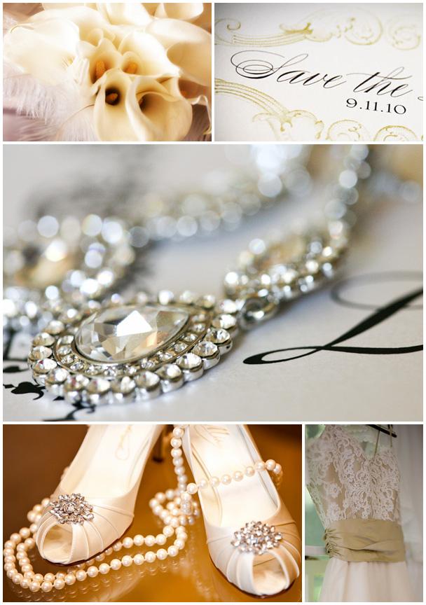 sapatos de noiva dourados