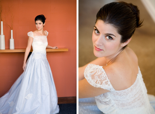 vestido de noiva clássico branco