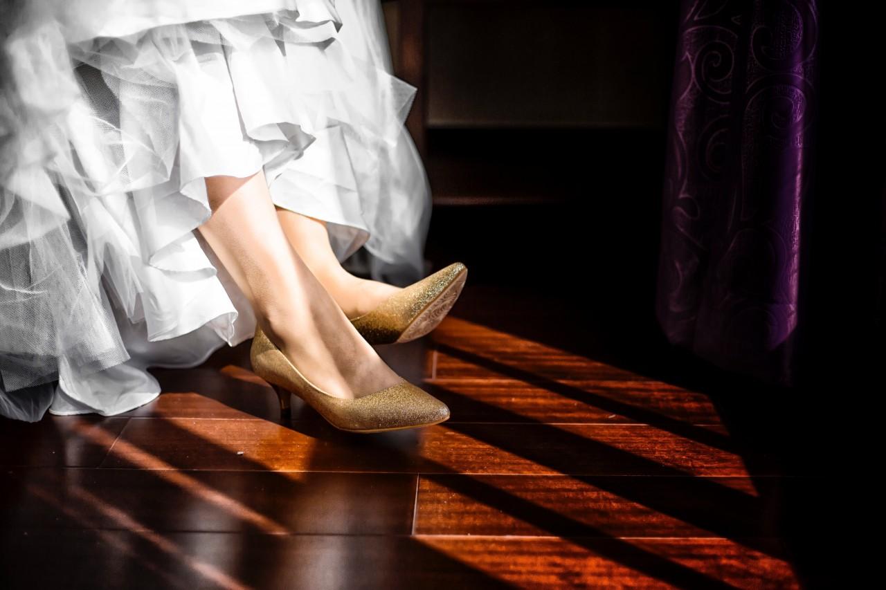 Sapatos noiva glitter