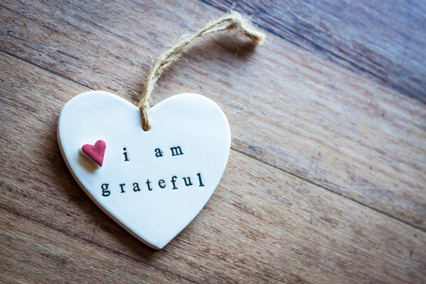 I'm grateful