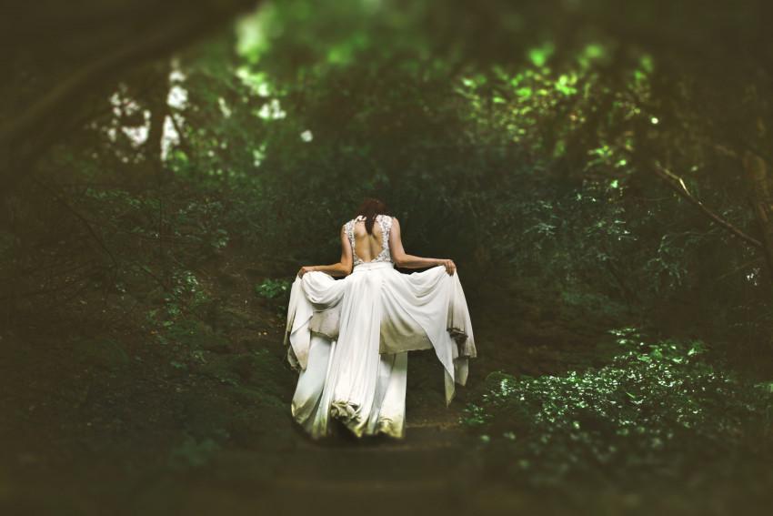 Noivo na floresta