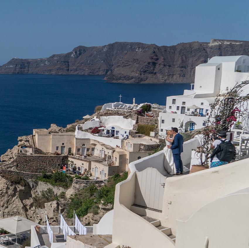 Noivos na grécia