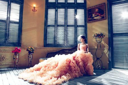 Vestido de noiva irreverente