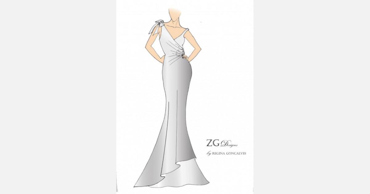 Vestidos de Noiva em zita goncalves estilista